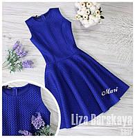 Красивое платье неопрен сетка в расцветках МС-004.008()17