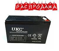 Аккумулятор 12V 9A UKC. РАСПРОДАЖА