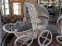 """Дизайнерский сувенир vintage """"коляска"""" 20""""30, фото 1"""