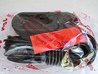 Удлинитель с карболитовой колодкой черный 10м-10/16А 250В, фото 1