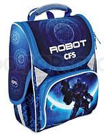 Ранец школьный ортопедический каркасный Cool for school Robot Space 85810