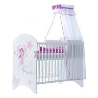 Кроватка белая Little Princess BABY BOO 100332