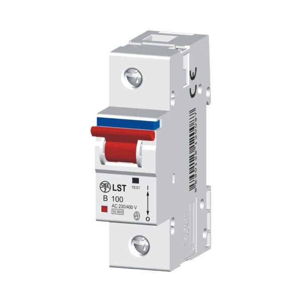 Автоматические выключатели 10 kA. 80-125 A. LVN, LST-DC, LST
