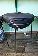 Казан азиатский чугунный  с крышкой (d=400, V=10 л)