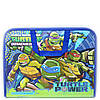 Папка-портфель на блискавці з тканинними ручками Ninja Turtles