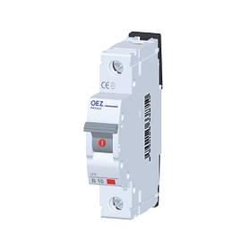 Автоматические выключатели 6 kA. 2-63 A. LTP, LSE, LPE