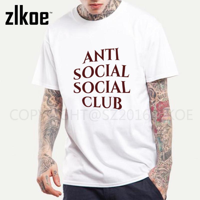 Футболка с принтом Anti Social social club № 138