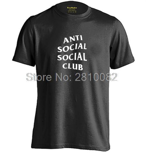 Футболка с принтом Anti Social social club № 144