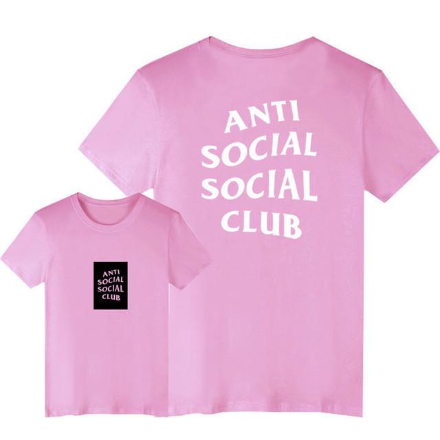 Футболка с принтом Anti Social social club № 146