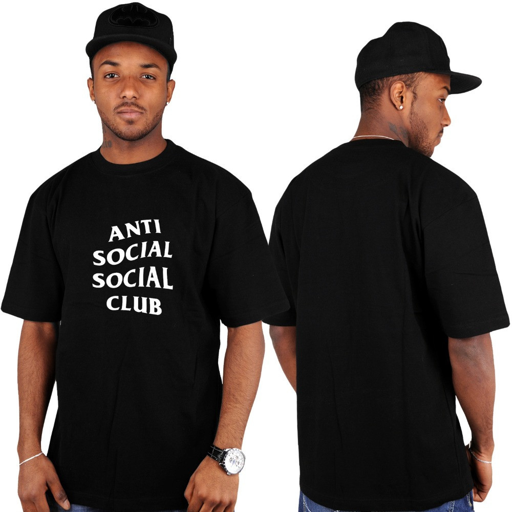 Футболка с принтом Anti Social social club № 151