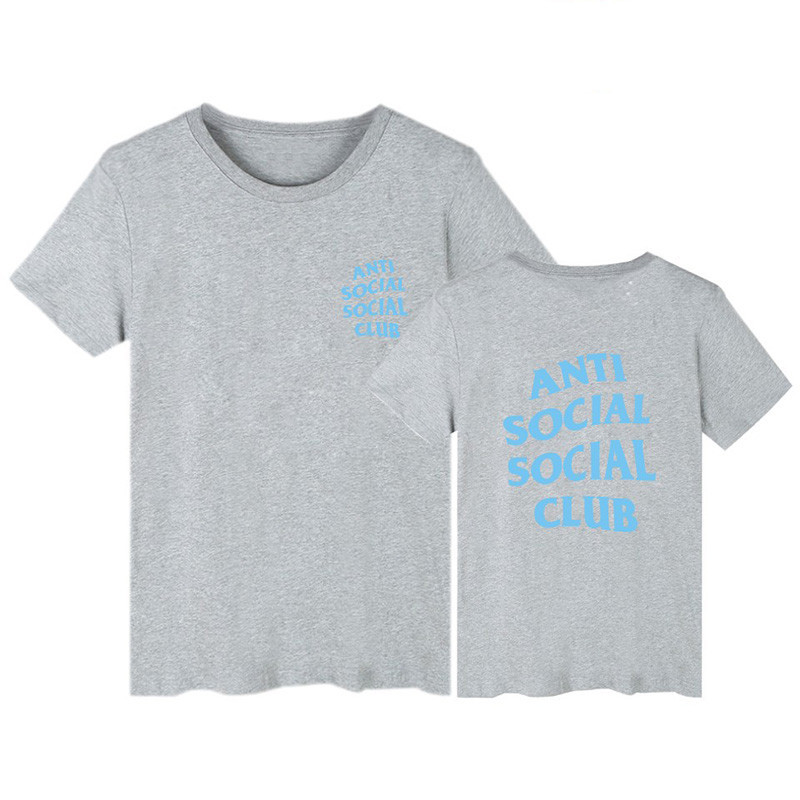 Футболка с принтом Anti Social social club № 159