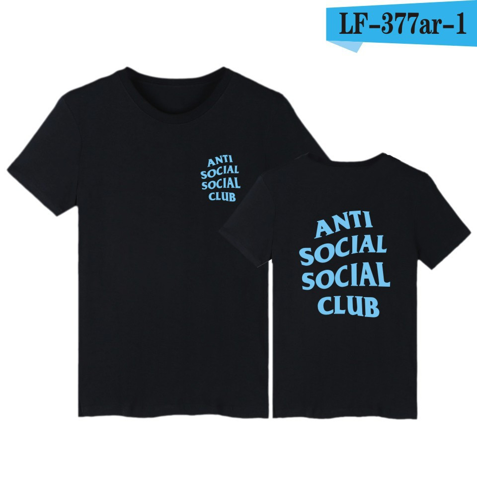 Футболка с принтом Anti Social social club № 162