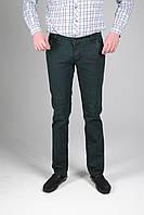 Мужские Джинсы Stravt темно-зелёные молодежные модные