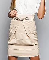 Женская юбка (Утягивающая с кожей sk)