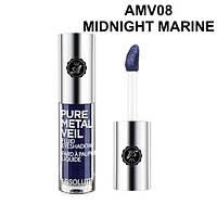 Жидкие тени Absolute Pure Metal Veil Eyeshadow - Midnight Marine