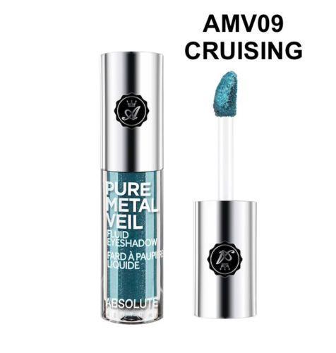 Жидкие тени Absolute Pure Metal Veil Eyeshadow - Cruising