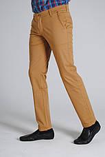 Джинсы Stravt коричневые летние мужские, фото 2