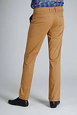 Джинсы Stravt коричневые летние мужские, фото 3