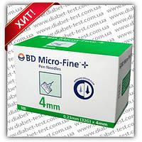 """Иглы инсулиновые для шприц-ручек """"МикроФайн"""" (Microfine) 4 мм"""