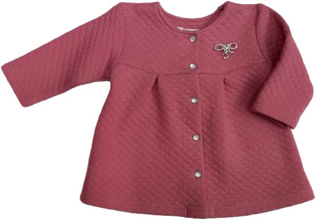 Реглан для девочки на пуговицах ТМ Витуся размер 68, фото 2