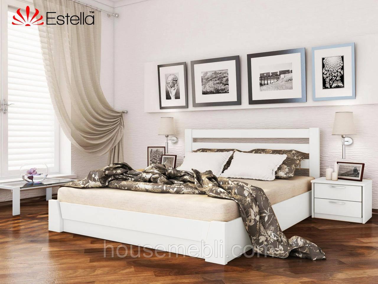 Деревянная кровать Селена(щит) 120*200