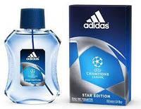 Туалетная вода UEFA Champions League Star Edition Adidas для мужчин, 100 мл
