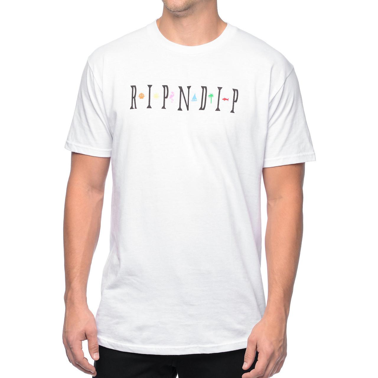 Футболка с принтом RipNDip Islander мужская
