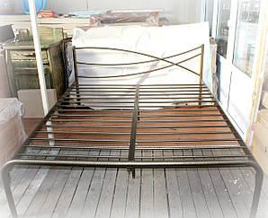 Кровать металлическая двухспальная