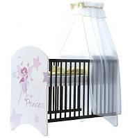 Кроватка каштан Little Princess BABY BOO 100333