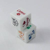 Игровые кубики (светятся при броске)