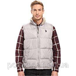 Жилетка теплая U.S. POLO ASSN Signature Vest with Inner Sherpa Collar (размер ХЛ)