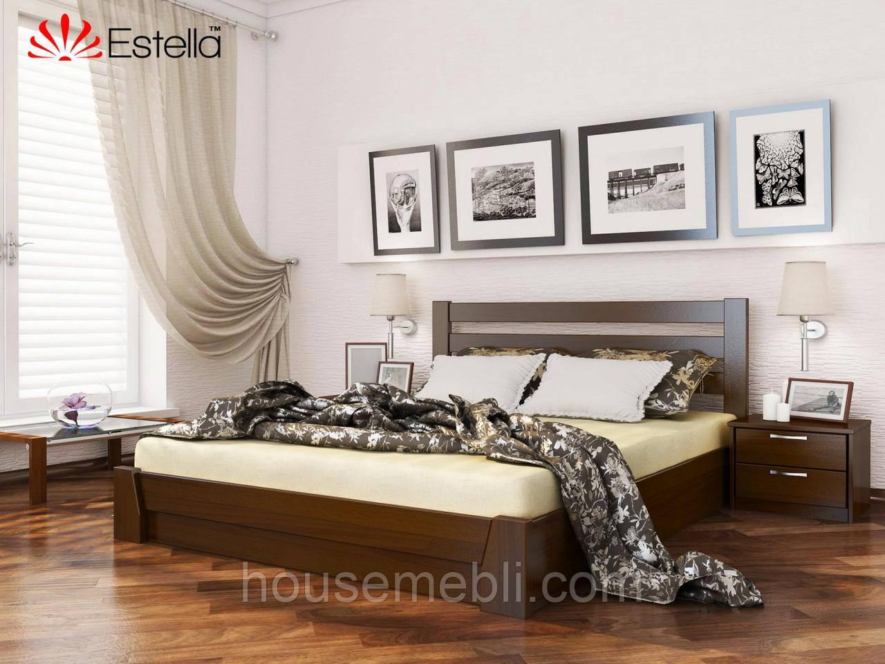 Деревянная кровать Селена(массив) 160*200