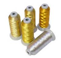 Вышивка металлизированными нитками