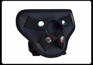 Страпон силиконовый на ремнях JB 19, фото 2