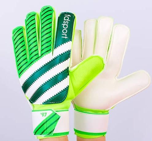 Рукавиці воротарські з захисними вставками на пальці FB-893-2 (PVC ... 61ffbb138a903
