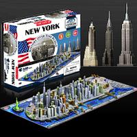 """Объемный пазл """"Нью-Йорк, США"""", 4D Cityscape"""