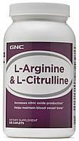GNC L-Arginine & L-Citrulline 120 caplets