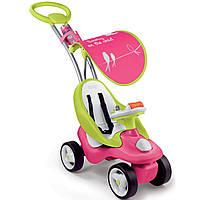 Каталка-качалка трансформер Bubble Go Smoby - Франция - розово-салатовый цвет