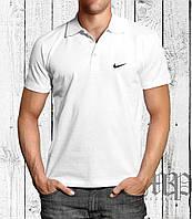 Футболка мужская поло с воротником Nike Найк