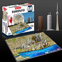 """Объемный пазл """"Торонто, Канада"""", 4D Cityscape"""
