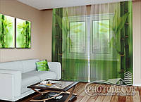 "ФотоТюль ""Зеленый бамбук"" (2,5м*1,50м, карниз 1м)"