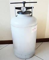 Автоклав бытовой газовый Белоруссия 30 литров: на 7 полулитровых и 5 литровых банок KRV / 0561