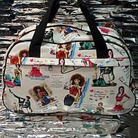Городская сумка (с рисункой)