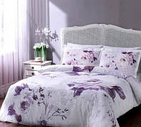 TAC полуторный комплект постельного белья сатин Davina damson