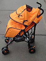 Детская коляска Bambi 1701 оранжевая