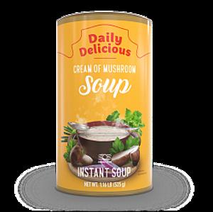 Дейли Делишес крем-суп с белыми грибами (Daily Delicious Cream of Mushroom Soup)
