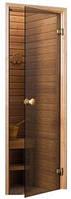 Двери для бани Andres, эконом, бронза, 70х190