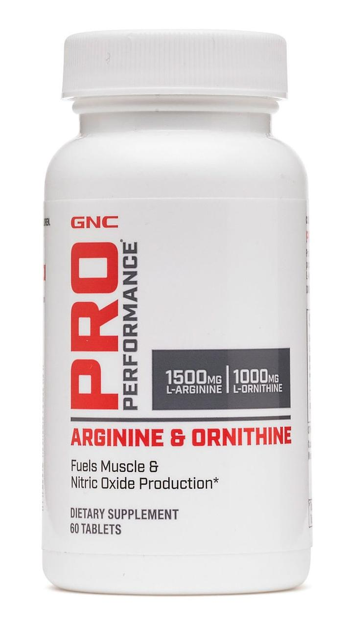 GNC L-Arginine & L-Ornithine 60 tabs