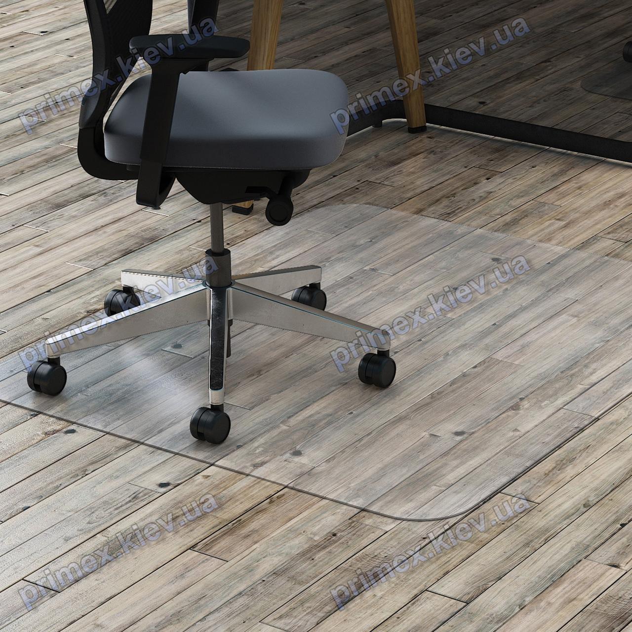Ковер под кресло прозрачный 92х92см. Германия. Толщина 2,0мм