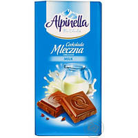 """Шоколад молочный Alpinella """"Mleczna"""" 90г."""